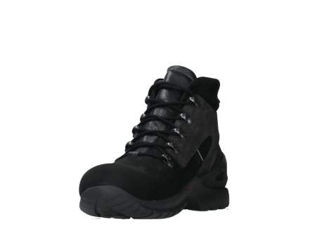 wolky lace up boots 06505 traction 16000 black nubuck_9