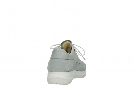 wolky lace up shoes 06603 wasco 11206 light grey nubuck_8