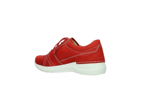 wolky lace up shoes 06609 feltwell 11570 red nubuck_15