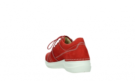 wolky lace up shoes 06609 feltwell 11570 red nubuck_17