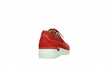 wolky lace up shoes 06609 feltwell 11570 red nubuck_20