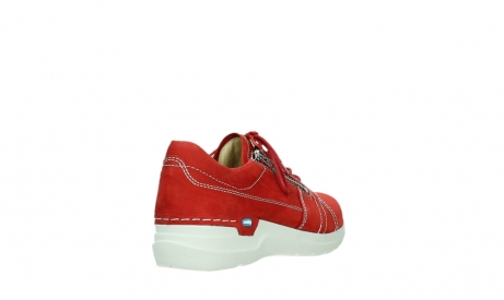 wolky lace up shoes 06609 feltwell 11570 red nubuck_21