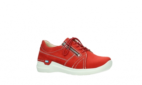 wolky lace up shoes 06609 feltwell 11570 red nubuck_3