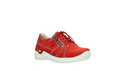 wolky lace up shoes 06609 feltwell 11570 red nubuck_4