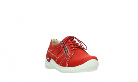 wolky lace up shoes 06609 feltwell 11570 red nubuck_5