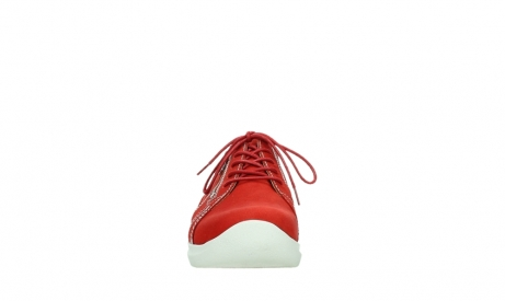 wolky lace up shoes 06609 feltwell 11570 red nubuck_7