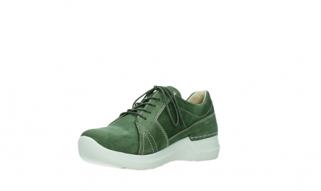 wolky lace up shoes 06609 feltwell 11720 moss green nubuck_10