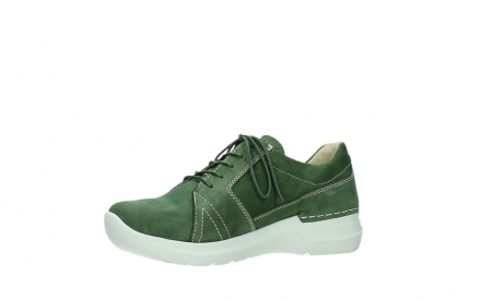 wolky lace up shoes 06609 feltwell 11720 moss green nubuck_11