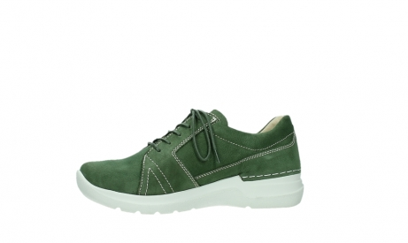 wolky lace up shoes 06609 feltwell 11720 moss green nubuck_12