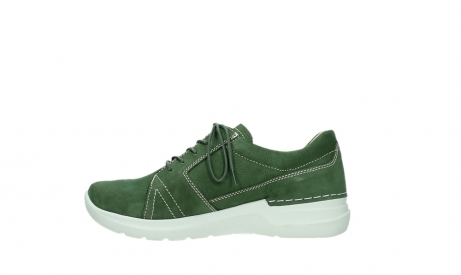 wolky lace up shoes 06609 feltwell 11720 moss green nubuck_13