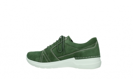 wolky lace up shoes 06609 feltwell 11720 moss green nubuck_14
