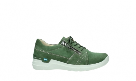 wolky lace up shoes 06609 feltwell 11720 moss green nubuck_2
