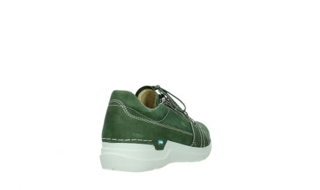 wolky lace up shoes 06609 feltwell 11720 moss green nubuck_21
