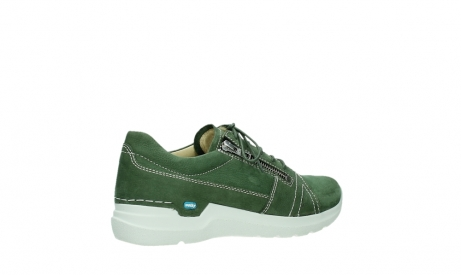 wolky lace up shoes 06609 feltwell 11720 moss green nubuck_23