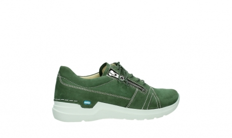 wolky lace up shoes 06609 feltwell 11720 moss green nubuck_24