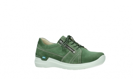 wolky lace up shoes 06609 feltwell 11720 moss green nubuck_3