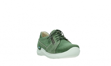wolky lace up shoes 06609 feltwell 11720 moss green nubuck_5