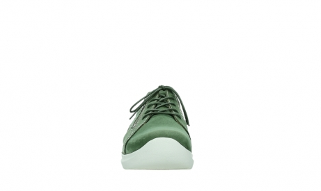 wolky lace up shoes 06609 feltwell 11720 moss green nubuck_7