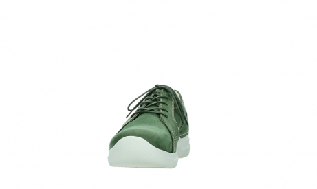 wolky lace up shoes 06609 feltwell 11720 moss green nubuck_8