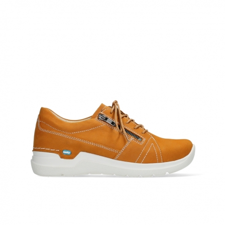 wolky lace up shoes 06609 feltwell 11920 ocher nubuck