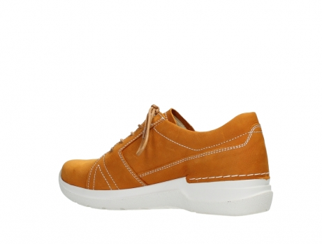 wolky lace up shoes 06609 feltwell 11920 ocher nubuck_15