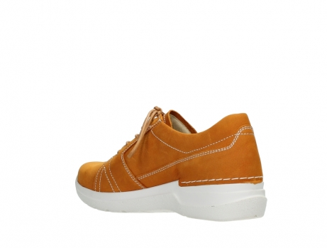 wolky lace up shoes 06609 feltwell 11920 ocher nubuck_16