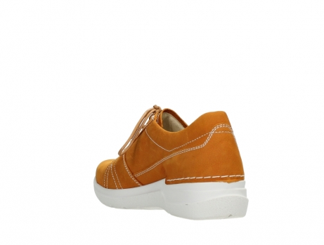wolky lace up shoes 06609 feltwell 11920 ocher nubuck_17
