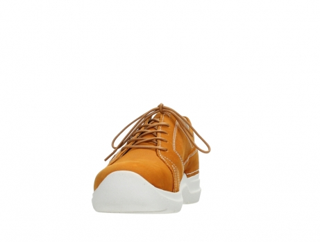 wolky lace up shoes 06609 feltwell 11920 ocher nubuck_8