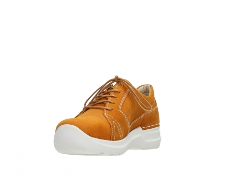 wolky lace up shoes 06609 feltwell 11920 ocher nubuck_9