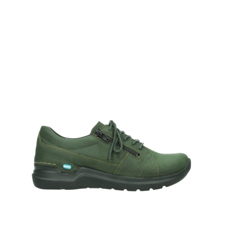 wolky lace up shoes 06609 feltwell 12735 forest green nubuck