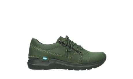 wolky lace up shoes 06609 feltwell 12735 forest green nubuck_1