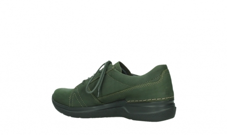 wolky lace up shoes 06609 feltwell 12735 forest green nubuck_15