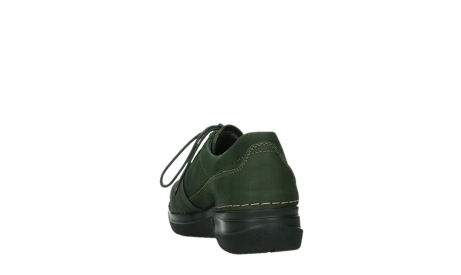 wolky lace up shoes 06609 feltwell 12735 forest green nubuck_18