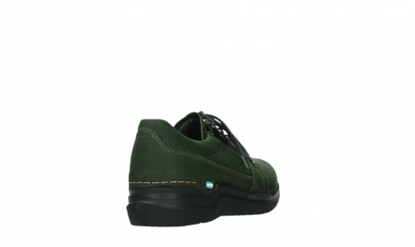 wolky lace up shoes 06609 feltwell 12735 forest green nubuck_21