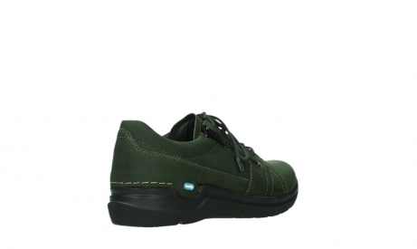 wolky lace up shoes 06609 feltwell 12735 forest green nubuck_22