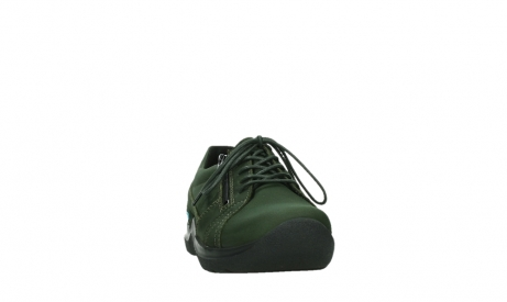 wolky lace up shoes 06609 feltwell 12735 forest green nubuck_6