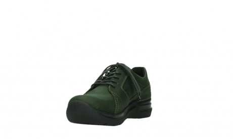 wolky lace up shoes 06609 feltwell 12735 forest green nubuck_9