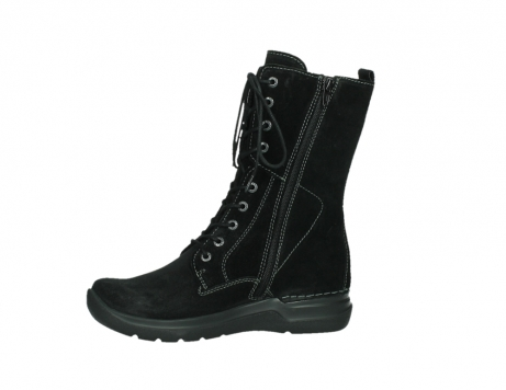 wolky lace up boots 06613 zigzag 45000 black suede_12
