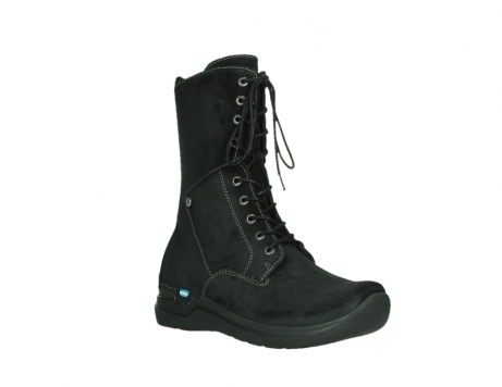 wolky lace up boots 06613 zigzag 45000 black suede_4