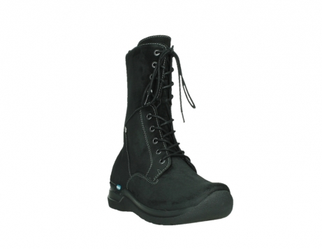 wolky lace up boots 06613 zigzag 45000 black suede_5
