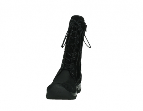 wolky lace up boots 06613 zigzag 45000 black suede_8