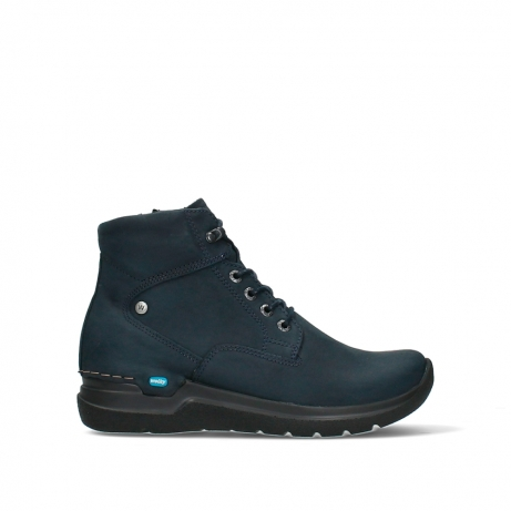 wolky lace up boots 06616 whynot hv 16800 blue nubuck