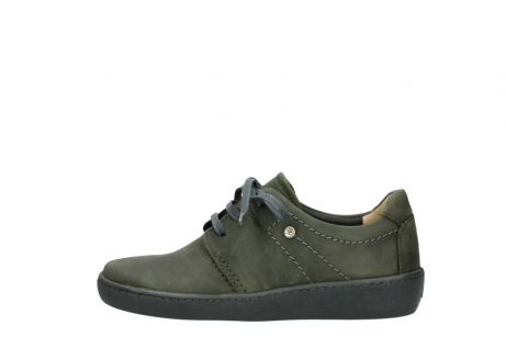 wolky lace up shoes 08125 artemis 50730 forest green oiled leather_1