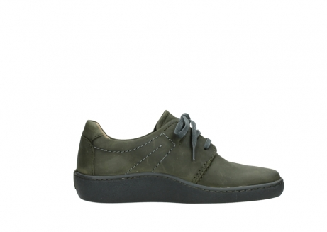wolky lace up shoes 08125 artemis 50730 forest green oiled leather_13