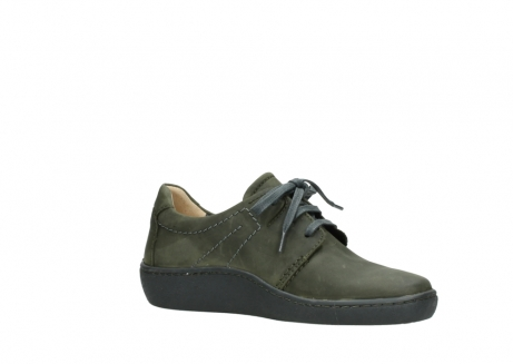 wolky lace up shoes 08125 artemis 50730 forest green oiled leather_15