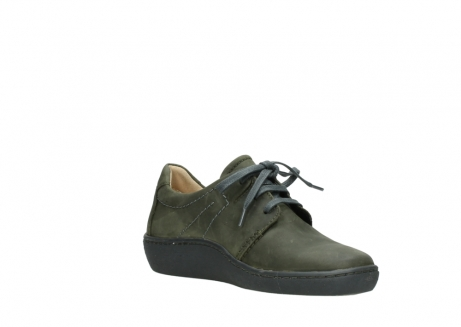wolky lace up shoes 08125 artemis 50730 forest green oiled leather_16