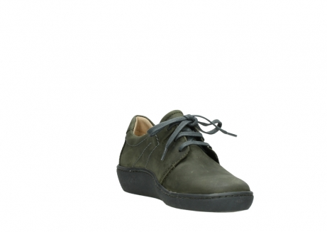 wolky lace up shoes 08125 artemis 50730 forest green oiled leather_17
