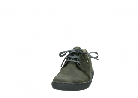 wolky lace up shoes 08125 artemis 50730 forest green oiled leather_20