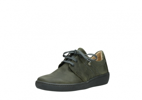 wolky lace up shoes 08125 artemis 50730 forest green oiled leather_22