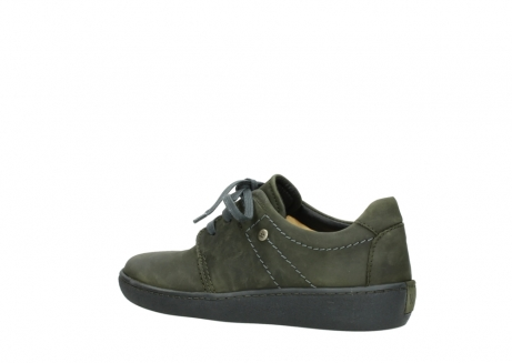 wolky lace up shoes 08125 artemis 50730 forest green oiled leather_3